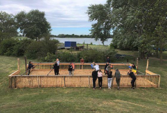 Levend tafelvoetbal, Riverside, Activiteiten